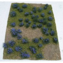 JTT 95606 Flowering Meadow Purple 5 Inch x 7 Inch Sheet