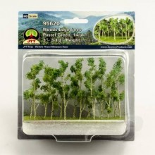 "Woods Edge Trees x 14 (3""-3-1/2"")"