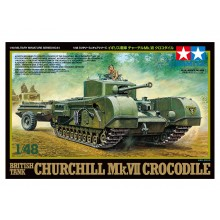 1/48 Military Miniature Series No.94 British Tank Churchill Mk.VII Crocodile