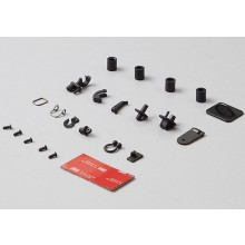 KILLERBODY HOOKS & RINGS SET (DIECAST BLACK) 1/10 SCALE