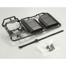 KILLERBODY BLACK PLASTIC JERRY CAN SET