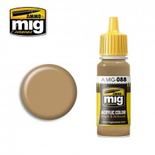 Ammo Mig Jimenez Acrylic 17ml Paint KHAKI BROWN
