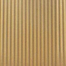 .002in Thick .187in Spacing Crimped Aluminium Corrugated Sheet