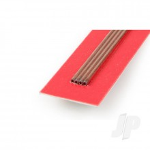 3mm 1m Round Copper Tube .36mm Wall