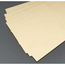 "Brass Sheet.100x4x10""/0.3x102x254mm"