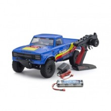 KYOSHO OUTLAW RAMPAGE 1:10 EP 2WD TRUCK (KT231P) READYSET - Blue