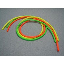 Silicone Tube Fluorescent 2.38x5.50mm x 75cm (Pk3)