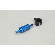 Fuel Filter (Med) w/Mount - Blue