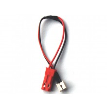 Charger Lead Minium E-Flite single cell to JST-SKU 2250