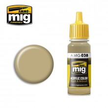 Ammo Mig Jimenez Acrylic 17ml Paint LIGHT WOOD