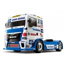Tamiya 1/14 RC Team Hahn Racing MAN TGS with (TT-01)