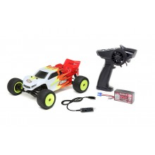Losi 1:18 2 Wheel Drive Mini-T 2.0 Ready To Run - Red/White