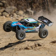 Losi 1/10 TENACITY-DB 4WD Desert Buggy RTR with AVC, - Blue/Yellow Body Finish - FOR PRE ORDER ONLY
