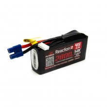 Reaction2 14.8V 2800mAh 4S 50C LiPo: 96mm EC3