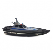 Maisto M82196 RC Police Boat RTR - 34.5cm Long
