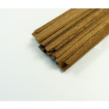 Mahogany strip 1x3x1000mm