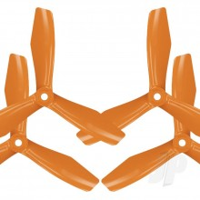 6x4.5 BN 3-Blade FPV Propeller Set x4 Orange