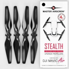 5.3x3.3 DJI Mavic Air STEALTH Upgrade Propeller Set 4x Black