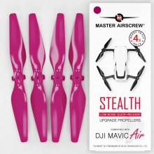 5.3x3.3 DJI Mavic Air STEALTH Upgrade Propeller Set 4x Magenta
