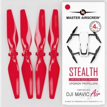 5.3x3.3 DJI Mavic Air STEALTH Upgrade Propeller Set 4x Red