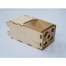 SMC Laser Cut Plywood Electric Motor Box