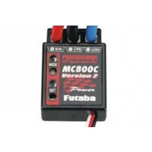 Futaba Professional MC800C FET Speed Controller Version 2