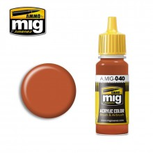Ammo Mig Jimenez Acrylic 17ml Paint MEDIUM RUST