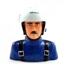MIRACLE HELMET 1/4TH PILOT - BLUE (H120xL120xW70mm)