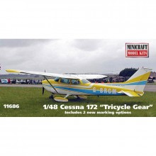 1:48 Cessna 172 w/custom registrati