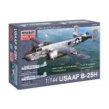 1:144 B-25H USAAF w/2 marking optio