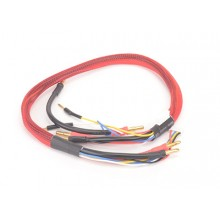 Monkey King RC Charge Leads 2 x 2S - Red