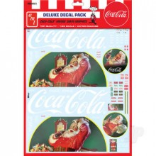 Vintage Coca-Cola Santa Clause Big Rig Graphics