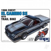 1/25 MPC 1986 Chevy El Camino SS with Dirt Bike