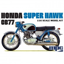 Plastic Kit MPC 1:16 Scale Honda Super Hawk Motorcycle MPC898