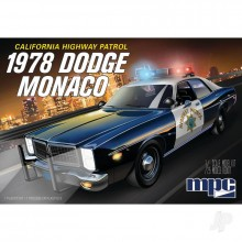 1/25 MPC 1978 Dodge Monaco CHP Police Car 2T