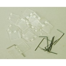 Pinned Hinges Non Assembled 8pack (L-SL070)