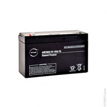 NX Sealed lead acid battery 6V 10Ah F6.35