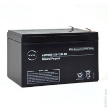 NX Sealed lead acid battery 12V 12Ah F6.35