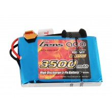 Li-Po 1S 3.7V 3500mAh Tx with JR