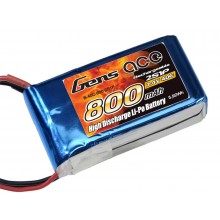 Li-Po 2S 7.4V 800mAh 40C with BEC