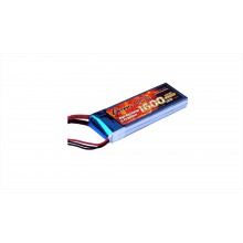 Li-Po 2S 7.4V 1600mAh 40C with T-Type
