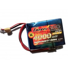 Gens Ace Li-Po 2S 7.4V 4000mAh RXC with EH