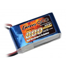 Li-Po 3S 11.1V 800mAh 40C with BEC