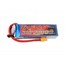 Li-Po 3S 11.1V 2200mAh 25C with T-Type