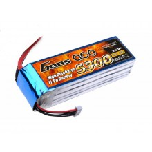 Li-Po 3S 11.1V 5300mAh 30C with T-Type