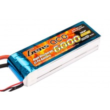 Li-Po 3S 11.1V 6000mAh 35C with EC5