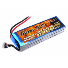 Li-Po 4S 14.8V 2500mAh 25C with T-Type