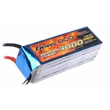 Li-Po 4S 14.8V 3000mAh 35C with T-Type