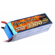 Li-Po 5S 18.5V 3300mAh 25C with T-Type