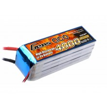Li-Po 5S 18.5V 4000mAh 25C with EC5